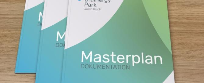 Der Masterplan zum Brainergy-Park Jülich