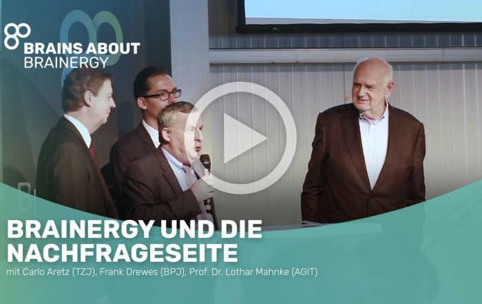 Brainergy - Dr. Lothar Mahnte, AGIT, Carlo Aretz, Technologiezentrum Jülich, Frank Drewes, Brainergy Park Jülich GmbH
