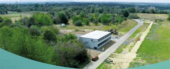 Ansicht des neuen BPJ Büros