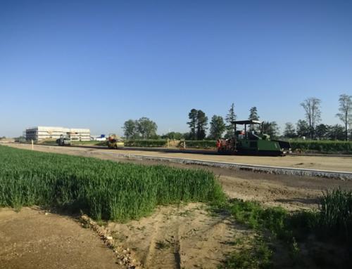 Straßenbau im Brainergy Park: Ein Anschluss wird gelegt!